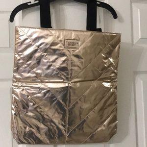 Victoria Secret Rose Gold Bag